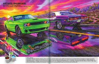 2015 Hellcat and 1971 RT440 Six Pack Challenger