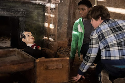 Goosebumps 2 Haunted Halloween 2018 movie still Jeremy Ray Taylor Caleel Harris