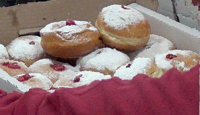 Sderot Hanukkah — doughnuts