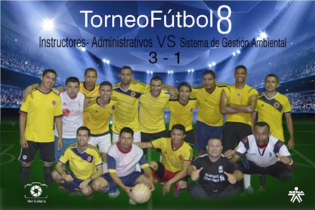 Torneo Interno Fútbol 8.
