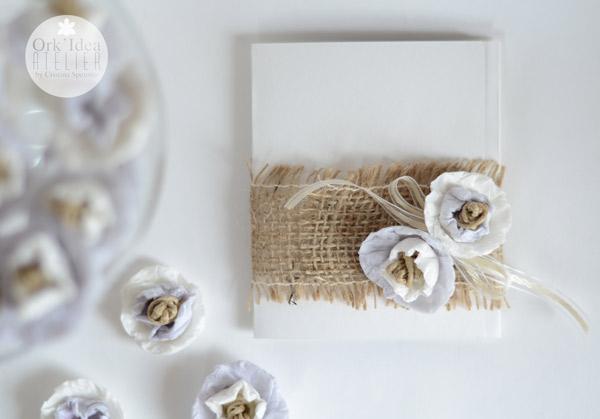 Orkidea Atelier Partecipazioni Di Nozze Fai Da Te Con Fiori Di