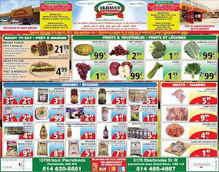 Akhavan Supermarche Flyer July 19 – 25, 2017