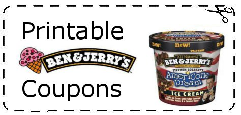 photo about Ben and Jerry's Printable Coupons named Ben and Jerrys Ice Product Coupon codes Printable Grocery Discount coupons