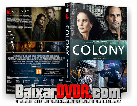 Colony – 2ª Temporada Completo (2017) DVD-R AUTORADO