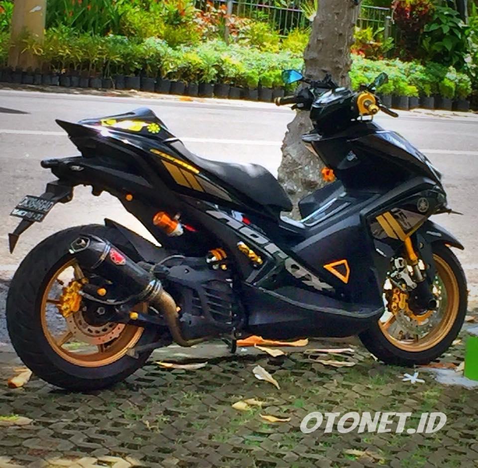 Download 64 Modifikasi Yamaha Aerox 155 Vva Terunik Gendoel Motoer