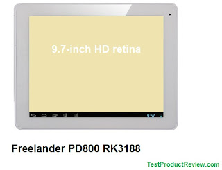 Freelander PD800 RK3188 quad-core Android tablet
