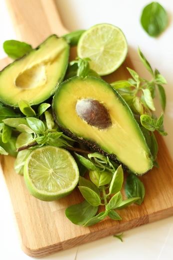 makaron z awokado dietetyczny fit przepis