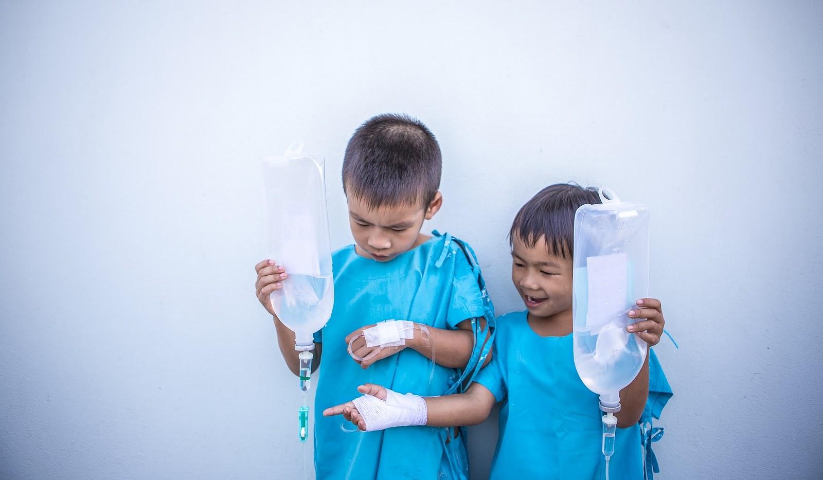 Pobyt w szpitalu dziecięcym