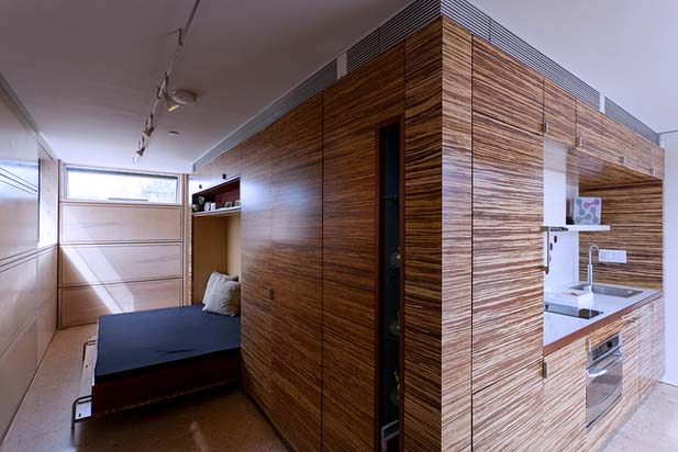 Flip-Bedroom-Mounted-the-Wall-Solar-Roofpod-by-CCNY