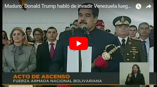 Donald Trump habló de invadir Venezuela luego de una visita de opositores a la Casa Blanca