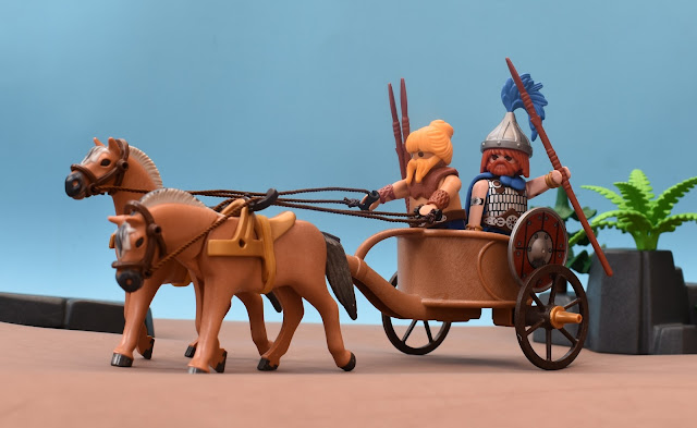 PLAYMOBIL GAUL WAR CART