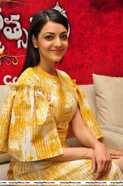 We spotted Kajal Aggarwal at the launch of Centro footwears Brahmotsavam Collection