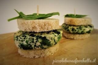 foto Burger tacchino e spinaci