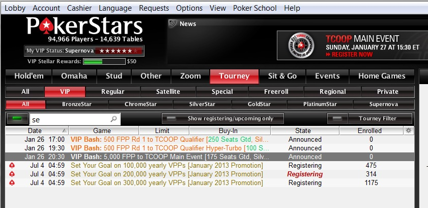 Pokerstars Vpp