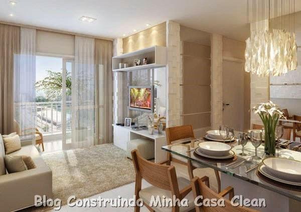 Construindo minha casa clean salas de jantar maravilhosas for Enrico esente arredamenti