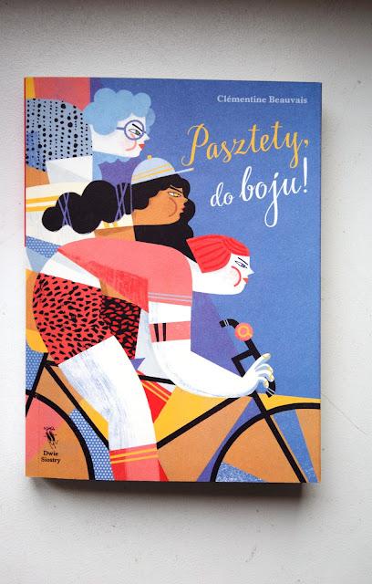 """Recenzje #30 - """"Pasztety do boju!""""  - okładka książki pt. """"Pasztety do boju!"""" - Francuski przy kawie"""