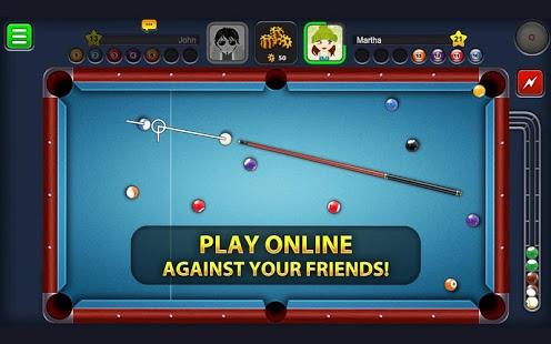Screenshoot 8 pool ball