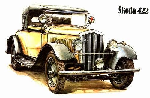Vintage Cars and Racing Scene, Automotive Art of Vaclav Zapadlik - küche vintage look
