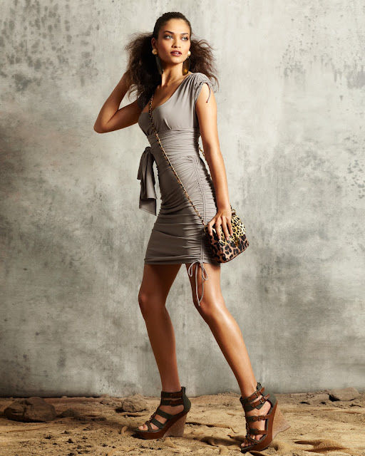 Models Inspiration: Shanina Shaik (Newport News Catalog ...