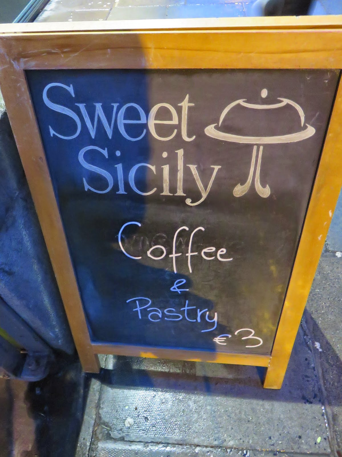 Sweet Sicily Sign