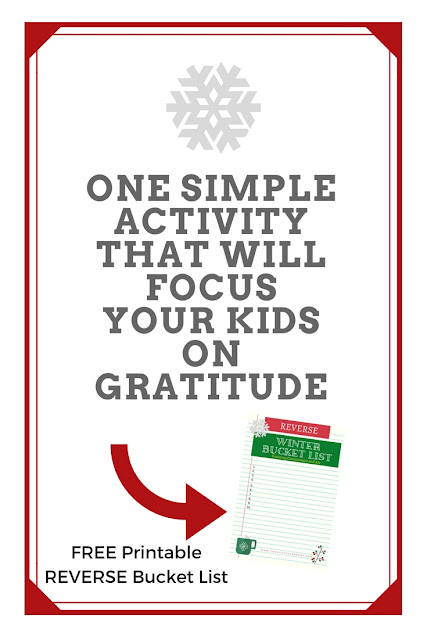 One Simple Activity that Will Focus Your Kids on Gratitude this Season {plus a FREE printable to help}