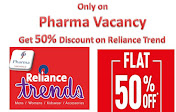Get 50%Off on Reliance Trends
