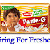 Parle-G Company Recently Announced Direct Joinings For Freshers With High Salary On Nov 2016