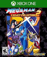 Mega Man Legacy Collection 2 Game Cover Xbox One
