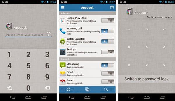 تحميل برنامج قفل التطبيقات برقم سري