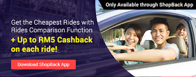 Get Cashback on all your rides, and take only the Cheapest