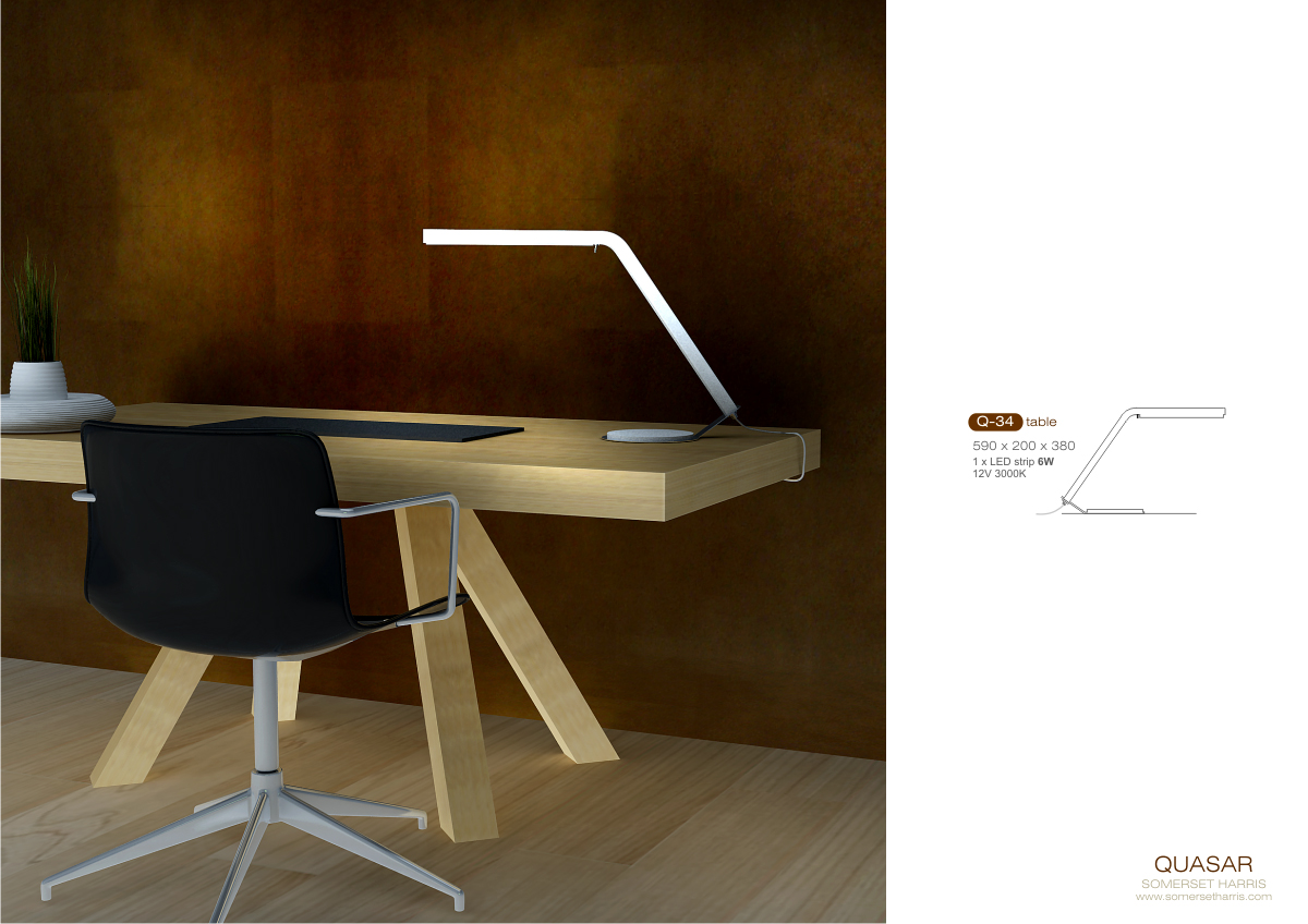 Desk-lamp-Quasar-LED-Design-Somerset-Harris
