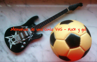 Rock, gol, fútbol, guitarra,