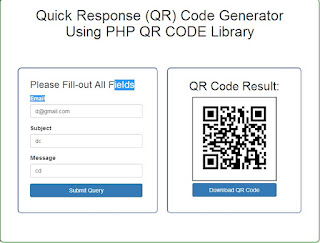 Source Code Make QR Code with PHP