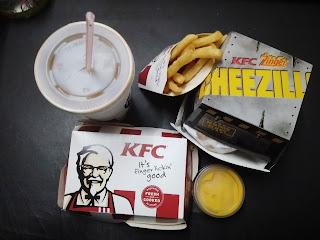 KFC CHEEZILLA SEDAP KE?
