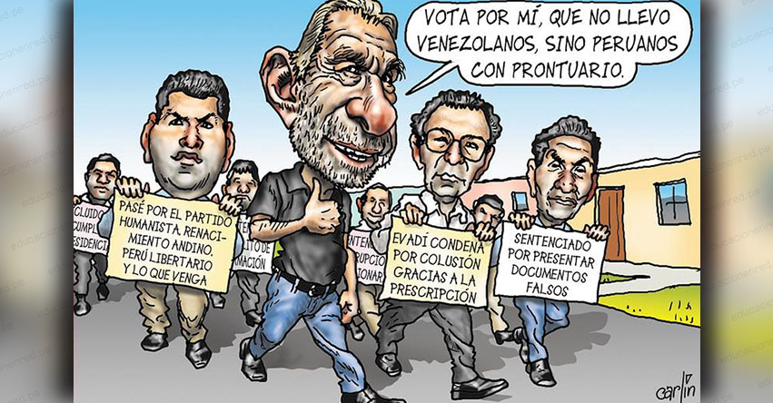 Carlincaturas Viernes 31 Agosto 2018 - La República
