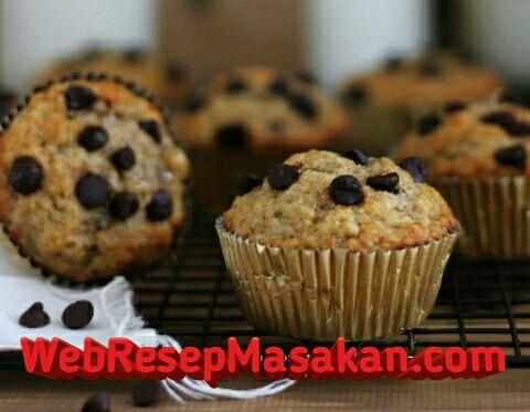 Banana Oatmeal Muffin, Resep banana oatmeal muffin,