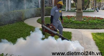 Dịch vụ phun thuốc diệt muỗi giá rẻ