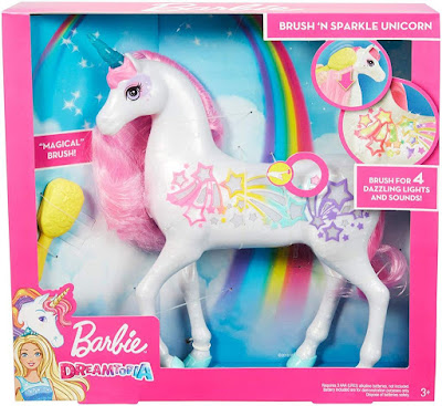 Barbie Brush 'N Sparkle Unicorn