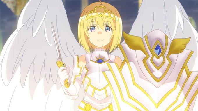 アニメ【防振り】7話感想 ネトゲのギルマスが隠しスキル持ち!守護天使スキル