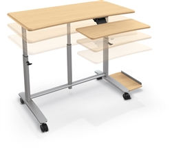 Sit-Stand Computer Desk