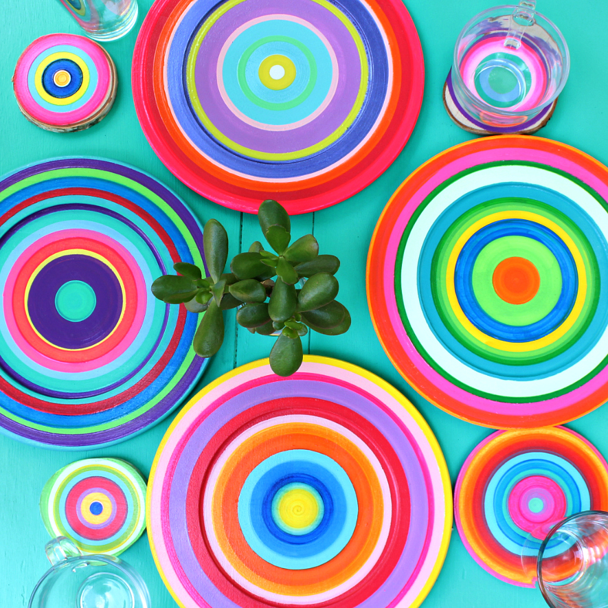 Mark Montano Colorful Summer Dishes Diy