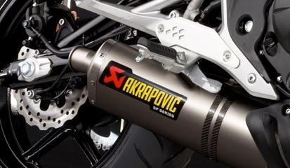 Brosur Daftar Harga Knalpot Motor Akrapovic Racing Terbaru 2014