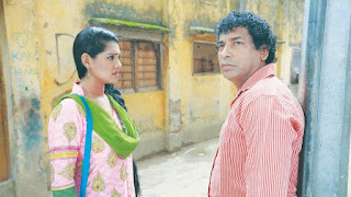 Nusrat Imrose Tisha With Actor Mosharraf Karim