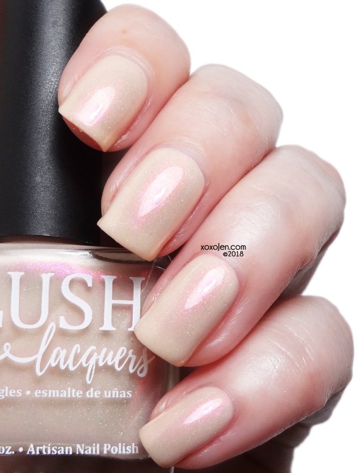 xoxoJen's swatch of BLUSH Lacquers Unconditional