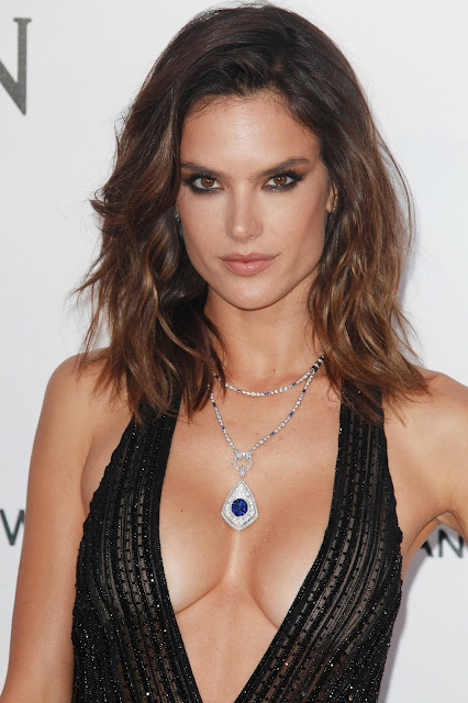 Actress, Model, @ Alessandra Ambrosio - amfAR's 23rd Cinema Against AIDS Gala in Cap d'Antibes