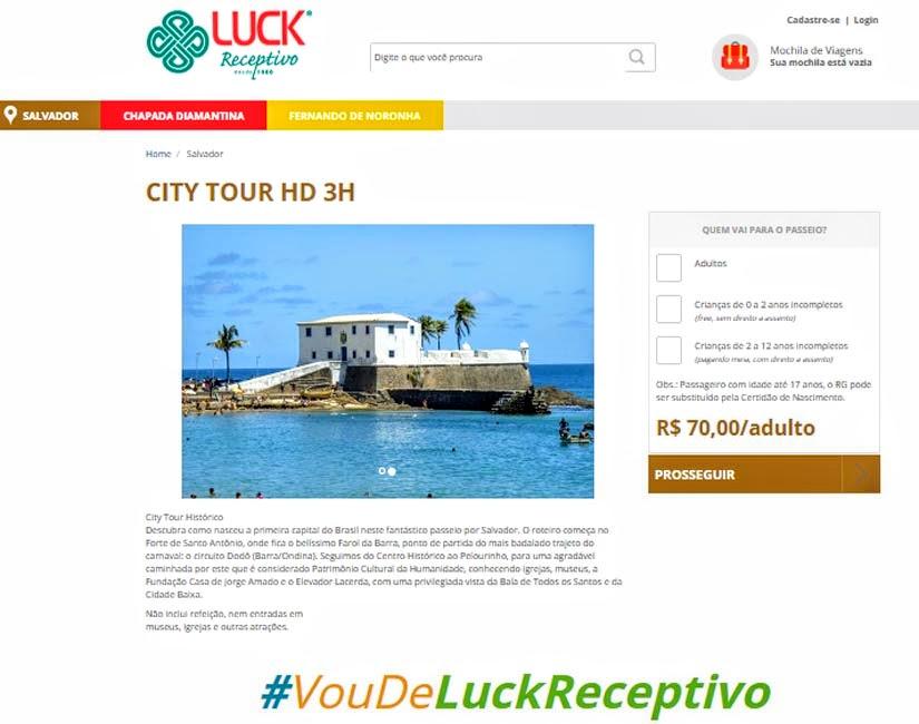 Passeios e Transfer em Salvador (Bahia) - Luck Receptivo