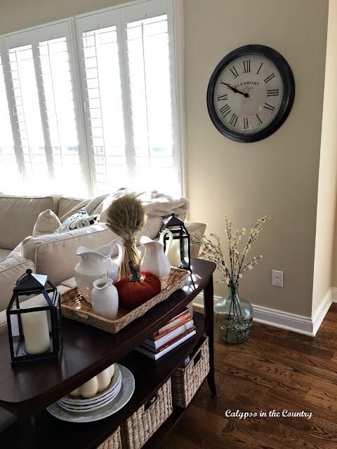 New Family Room clock