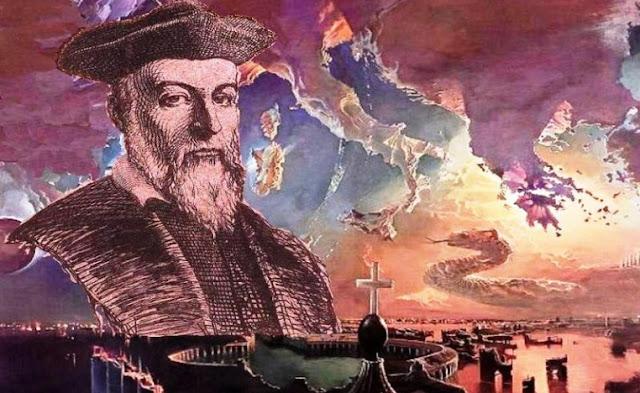 Nostradamus dhe harta e europës