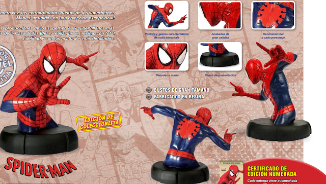 Spiderman busto