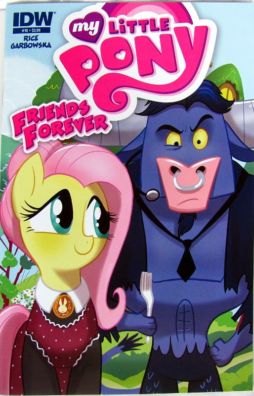 MLP Friends Forever #10 main cover